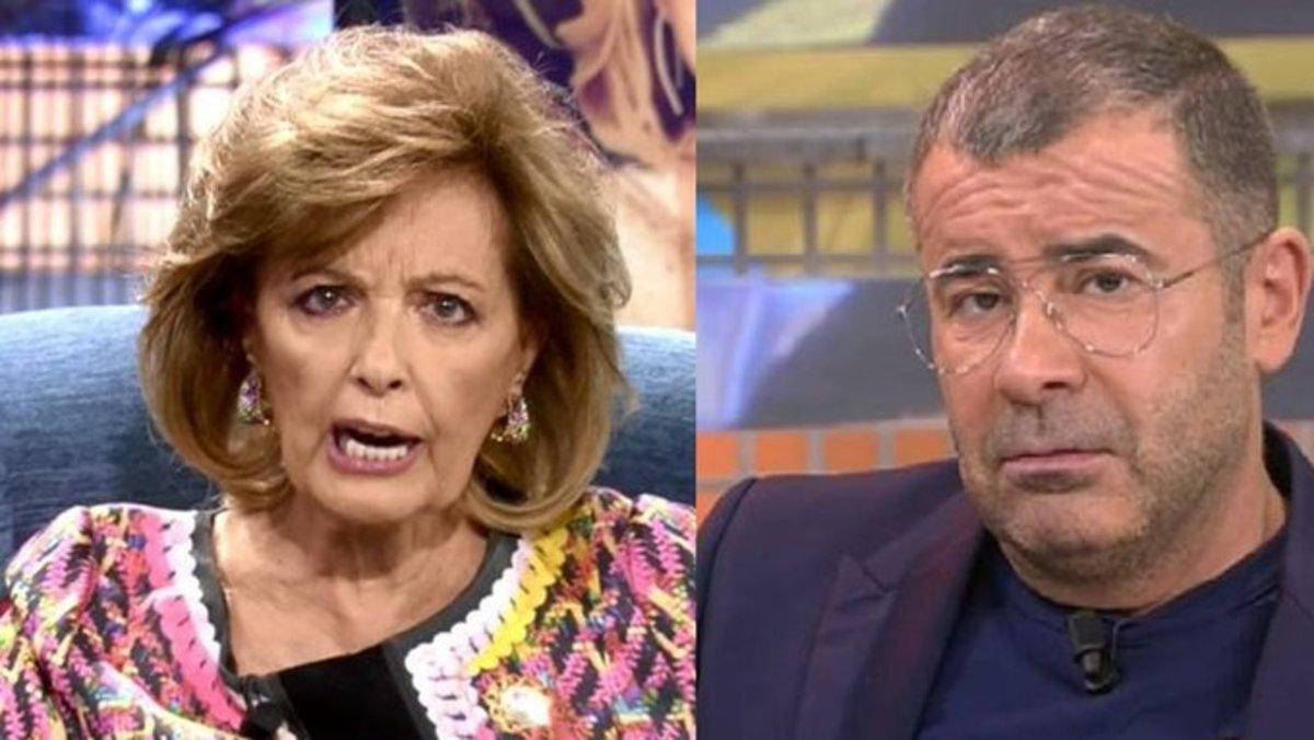 """María Teresa Campos, abatida por los ataques de Jorge Javier: """"No entiendo a este tío ni dónde quiere llegar"""""""