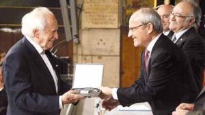 Mor el diputat d'ERC i fundador de l'editorial Pòrtic Josep Fornas als 96 anys