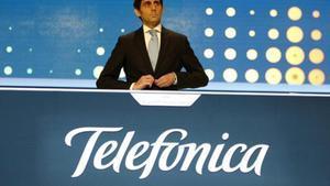 Álvarez Pallete, en un acto de la compañía el pasado 12 de septiembre.