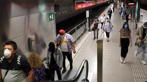 Multes per a qui no porti mascareta al transport públic