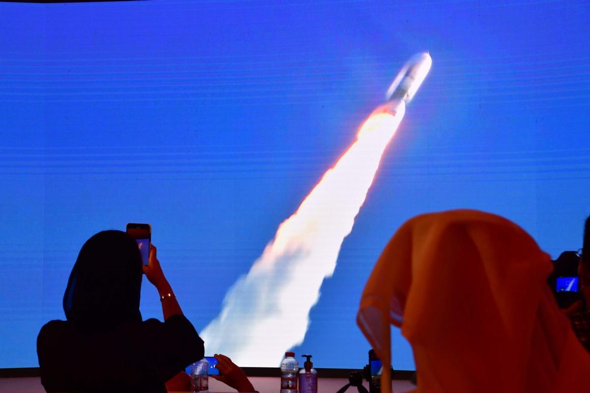 La sonda 'Hope' dels Emirats Àrabs obre una cadena de missions a Mart