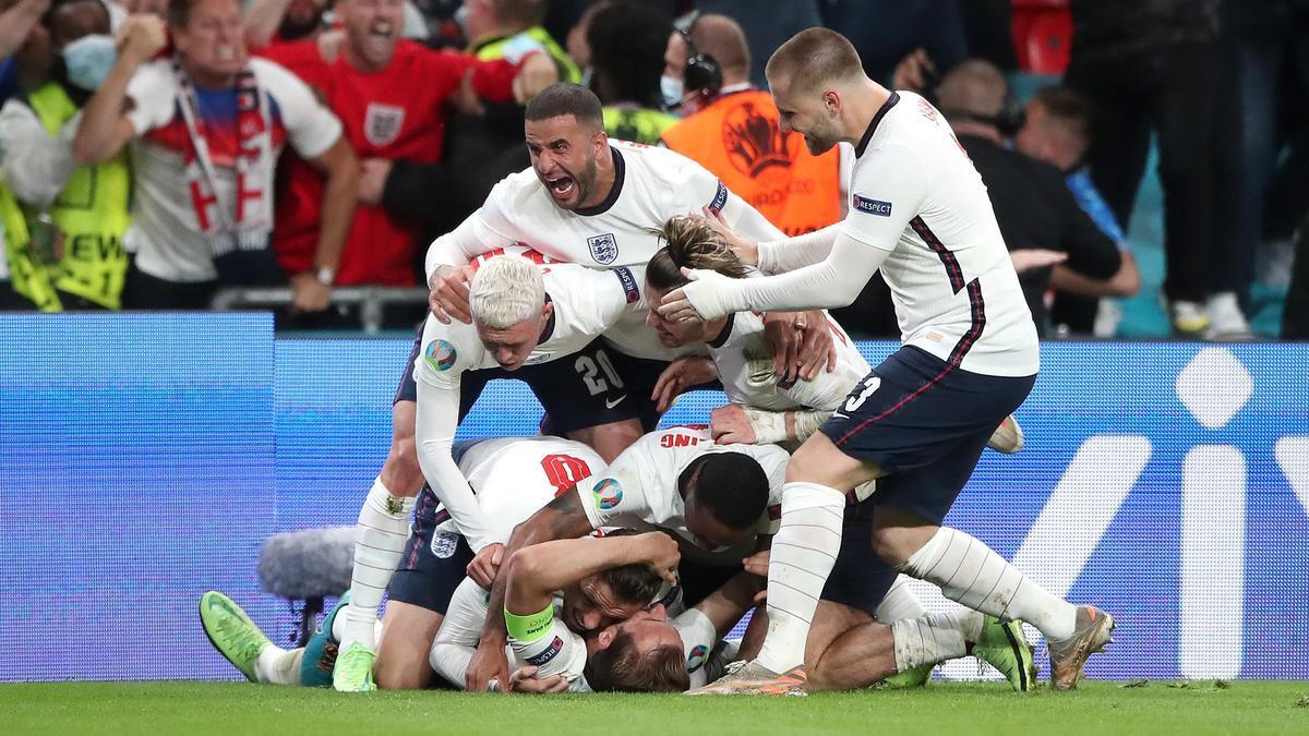 Anglaterra arriba, per fi, a la segona final de la seva història