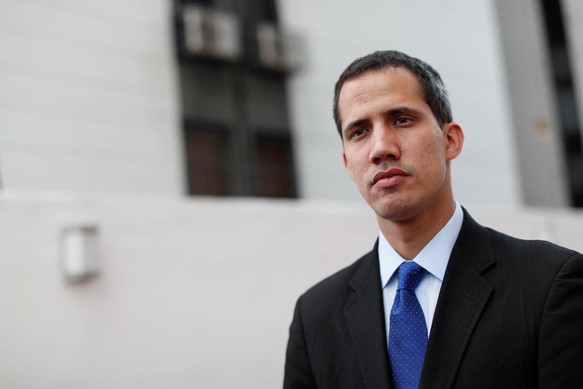 Juan Guaidó se autoproclamopresidente encargado de Venezuela y busca derrocar a Maduro.REUTERS Carlos Garcia Rawlins