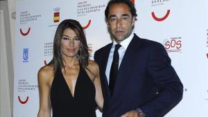 Raquel Revuelta junto a su exmarido, Miguel Ángel Jiménez, en una imagen del 2007.