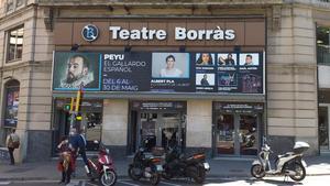 Fachada del Teatre Borràs, ahora dedicado a la comedia.