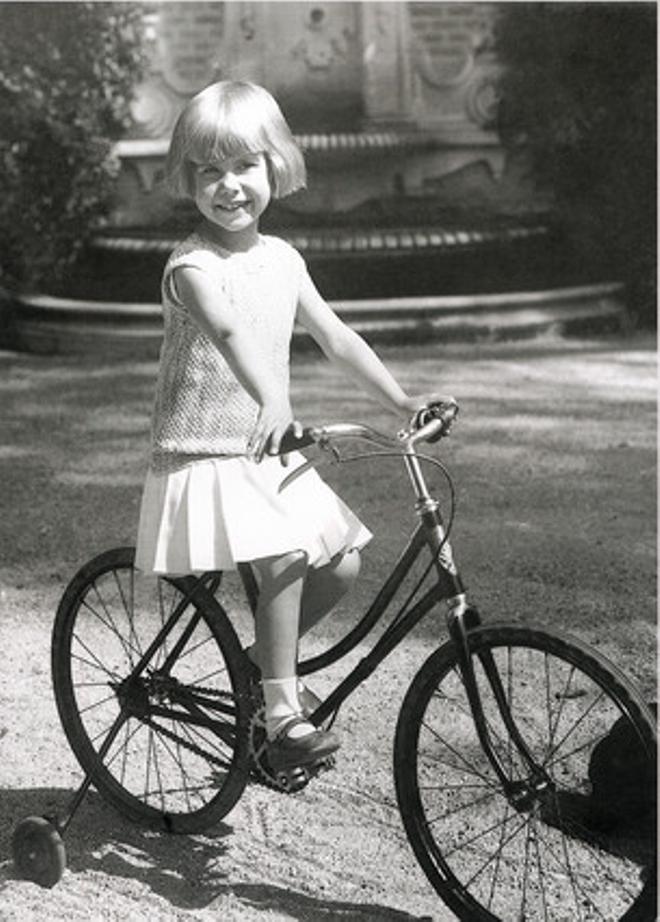Foto de la duquessa d'Alba de petita.