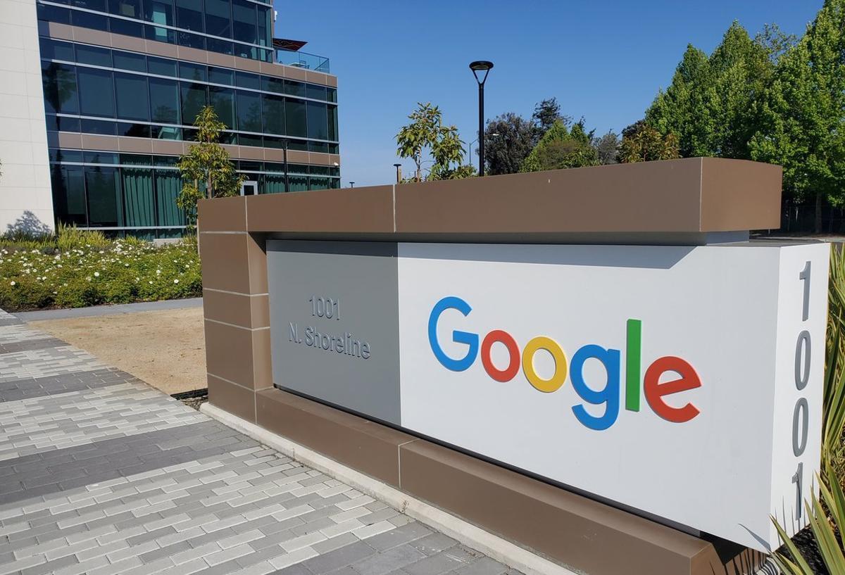 El centro logístico de Google enMountain View,California.