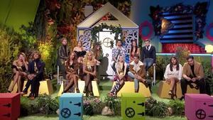Los concursantes de 'La casa fuerte'.