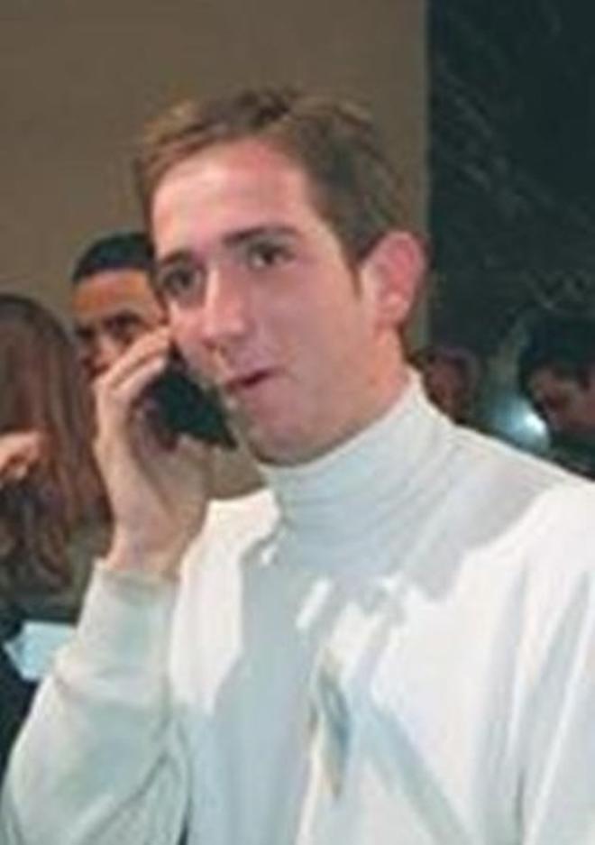 Raúl Berdonés, actual presidente del Grupo Secuoya, en 1997.