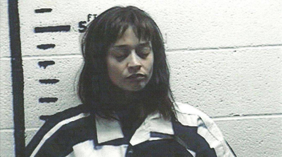 Fiona Apple, en una ficha policial, en el 2012.