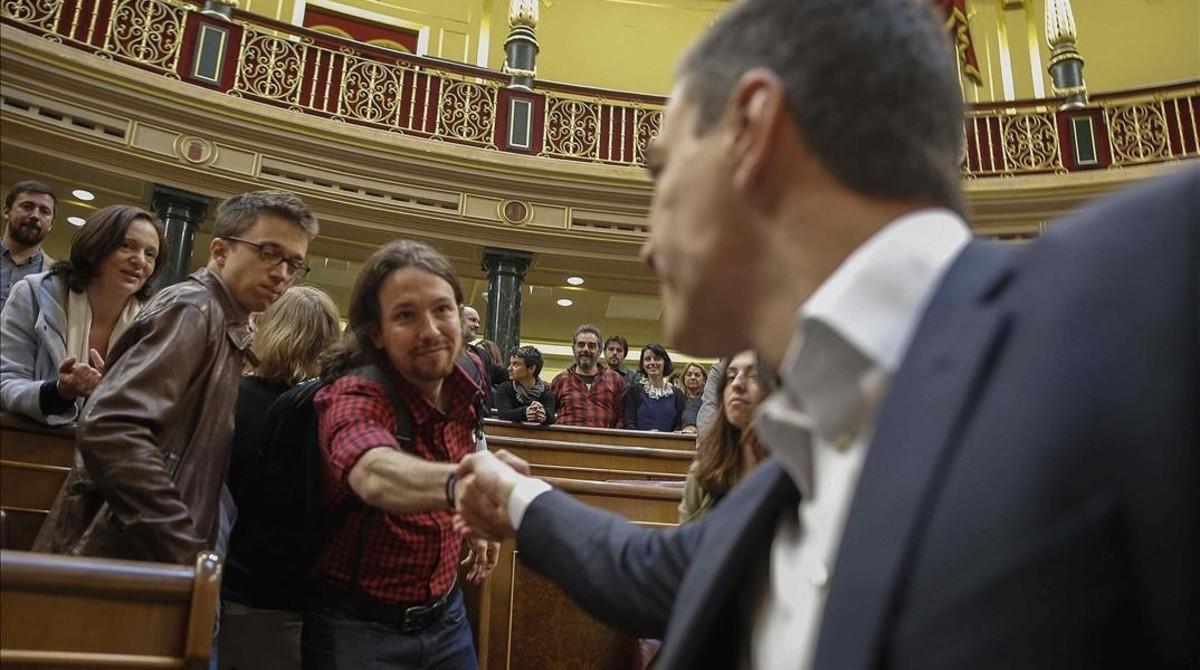 Termina la legislatura más corta de la historia de la democracia española.
