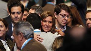 Ana Mato, en enero de este año, en una convención del PP en Madrid.