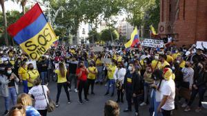 Colombians a Barcelona: «Aquí podem manifestar-nos sense que ens fiquin una bala al cap»