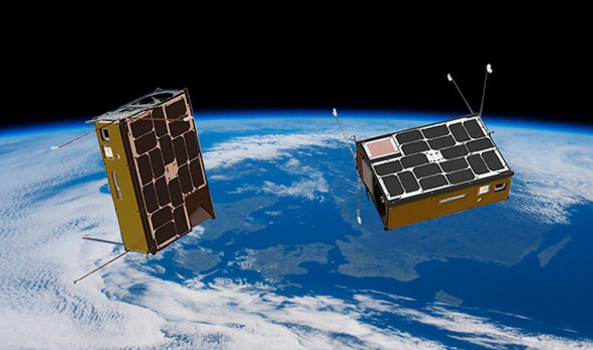 En òrbita dos nanosatèl·lits de la UPC per estudiar els pols