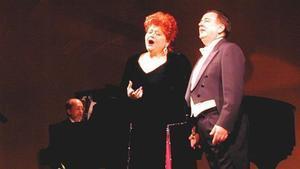 La soprano Pilar Torreblanca, en una actuación.