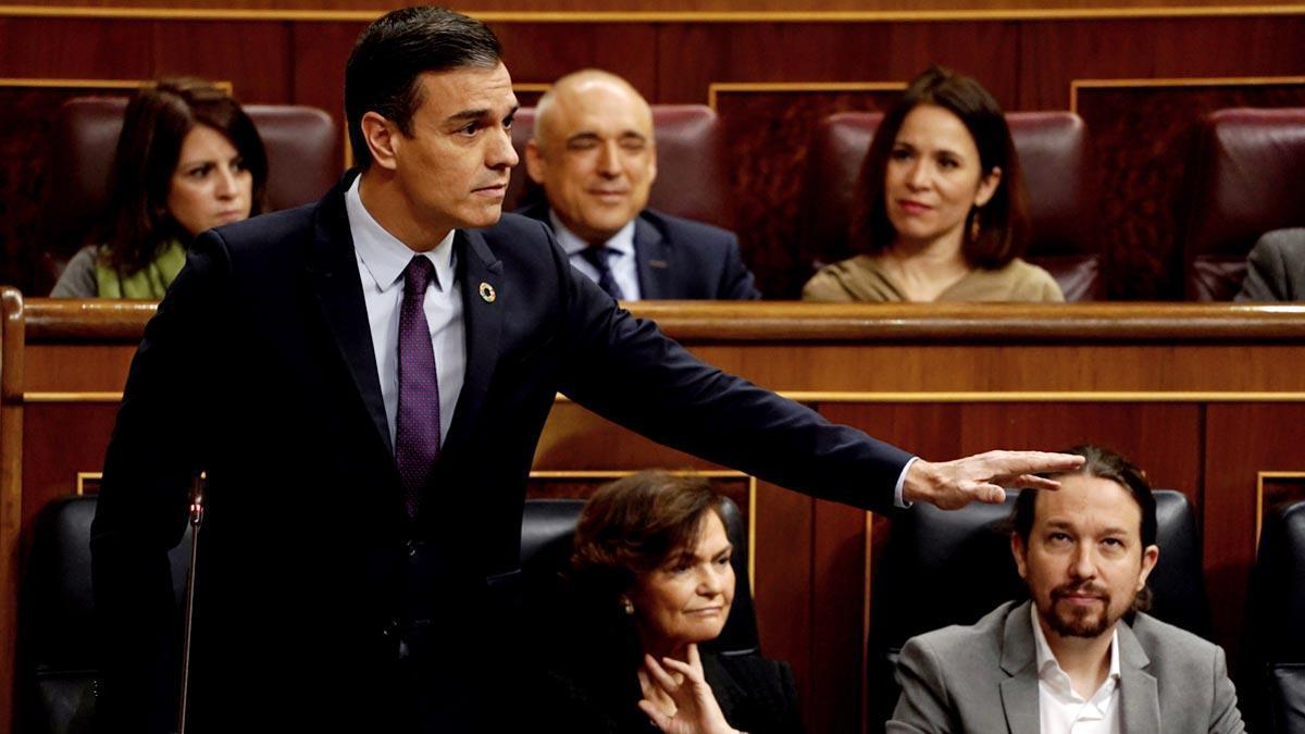 Pedro Sánchez se refiere a Juan Guaidó como el líder de la oposición en Venezuela.
