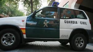 Un coche de la Guardia Civil en una foto de archivo.