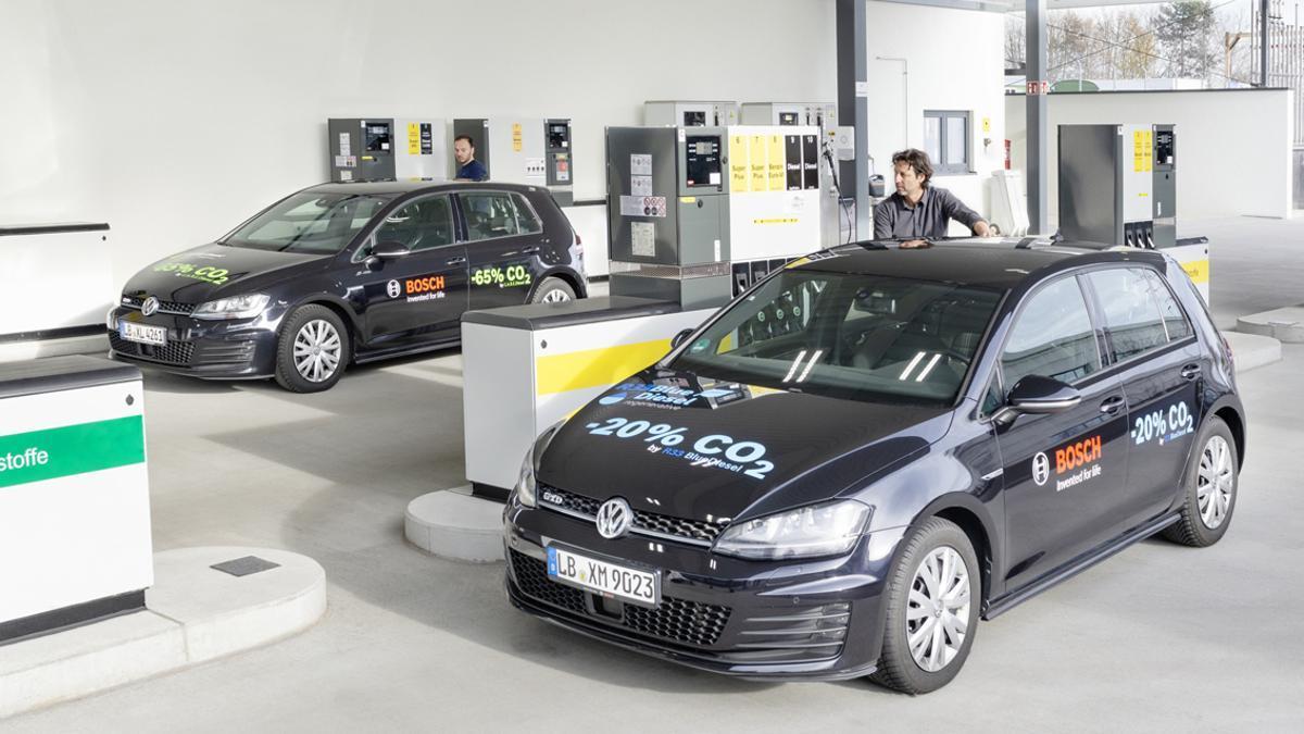 Blue Gasoline para las estaciones de servicio.