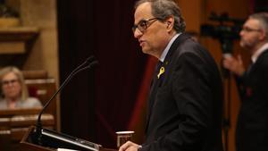 El Suprem confirma les multes imposades a Torra pels llaços grocs en edificis públics
