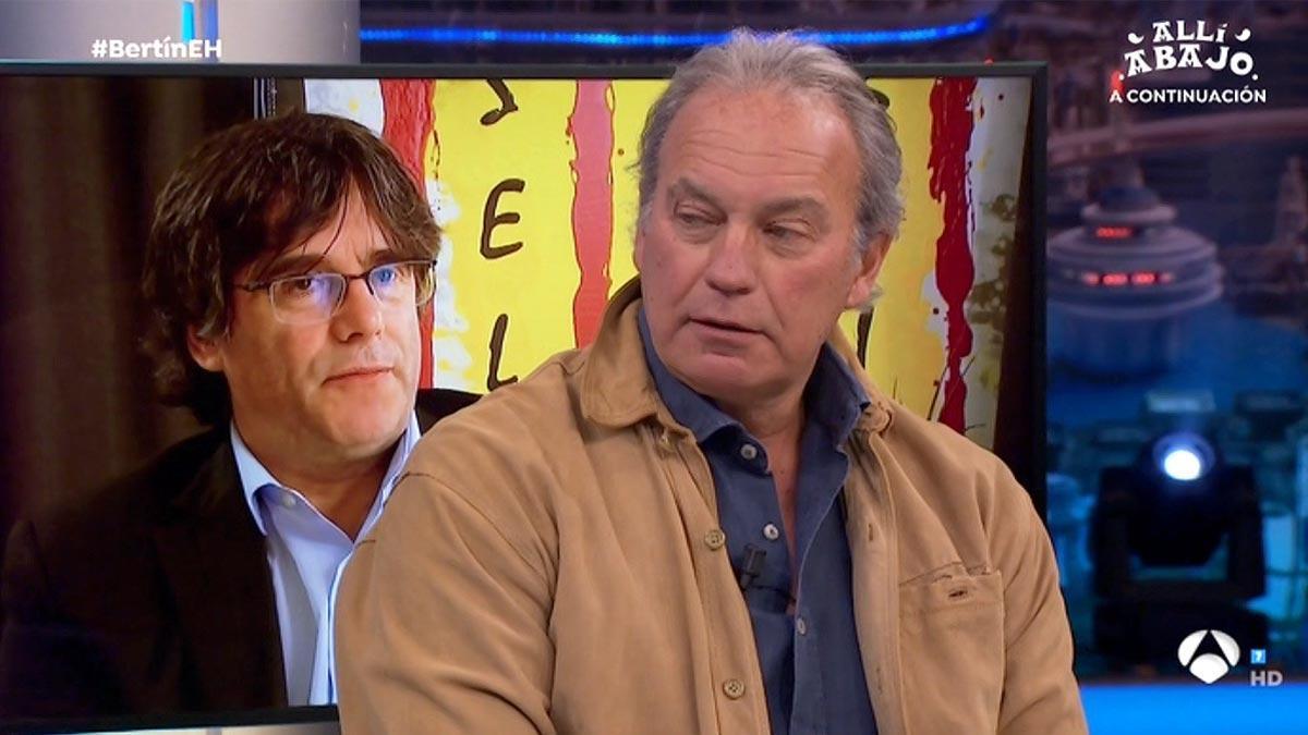 Bertín Osborne en El hormiguero (A-3 TV).
