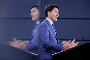 Trudeau reconoció a Biden como ganador.
