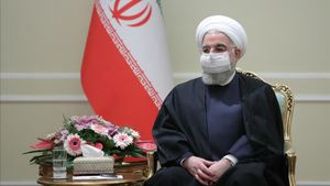 A handout picture provided by the Iranian presidency on December 9  2020 shows President Hassan Rouhani  mask-clad due to the COVID-19 coronavirus pandemic  meeting with the visiting Azerbaijan Foreign Minister in the capital Tehran  (Photo by -   Iranian Presidency   AFP)       RESTRICTED TO EDITORIAL USE - MANDATORY CREDIT  AFP PHOTO   HO   IRANIAN PRESIDENCY  - NO MARKETING NO ADVERTISING CAMPAIGNS - DISTRIBUTED AS A SERVICE TO CLIENTS