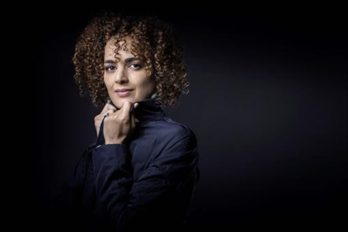 La escritora y periodista Leila Slimani.