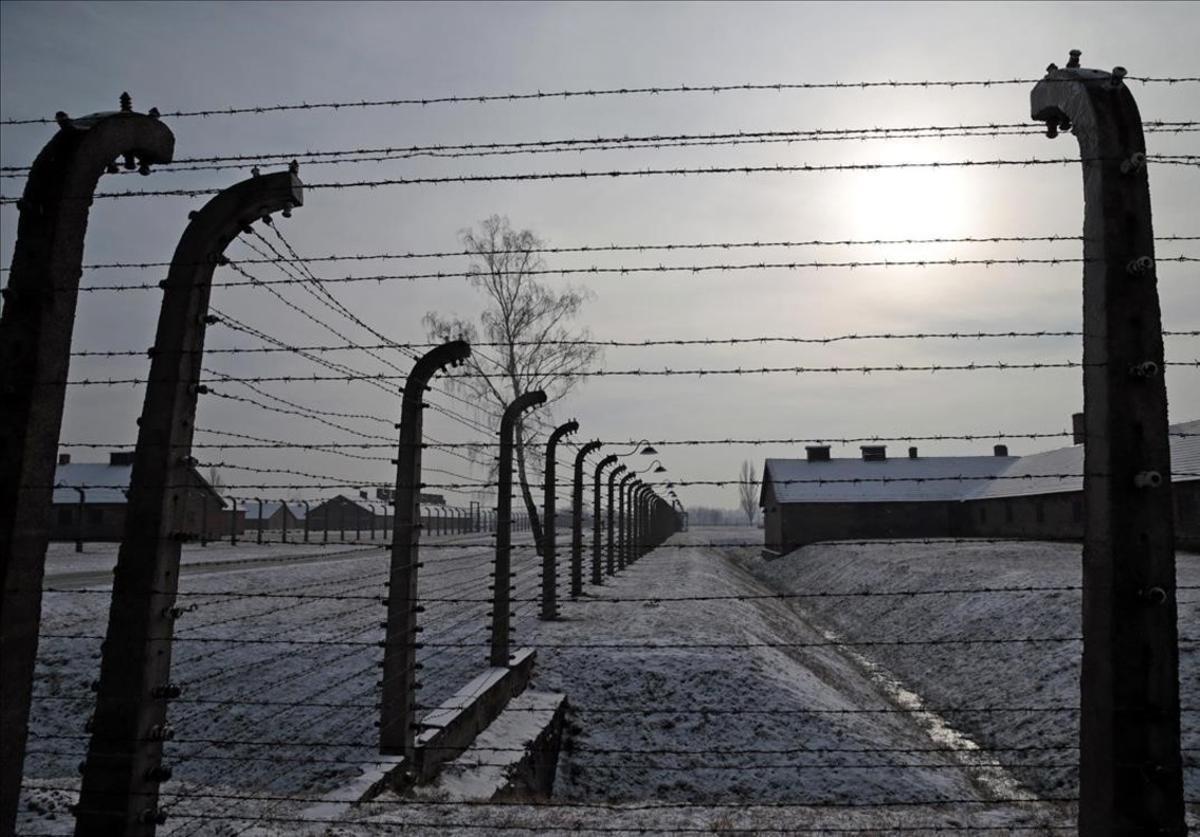 El campo de concentración de Birkenau.