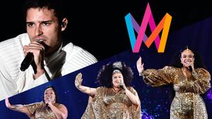 Eric Saade y The Mamas, finalistas del Melodifestivalen 2021