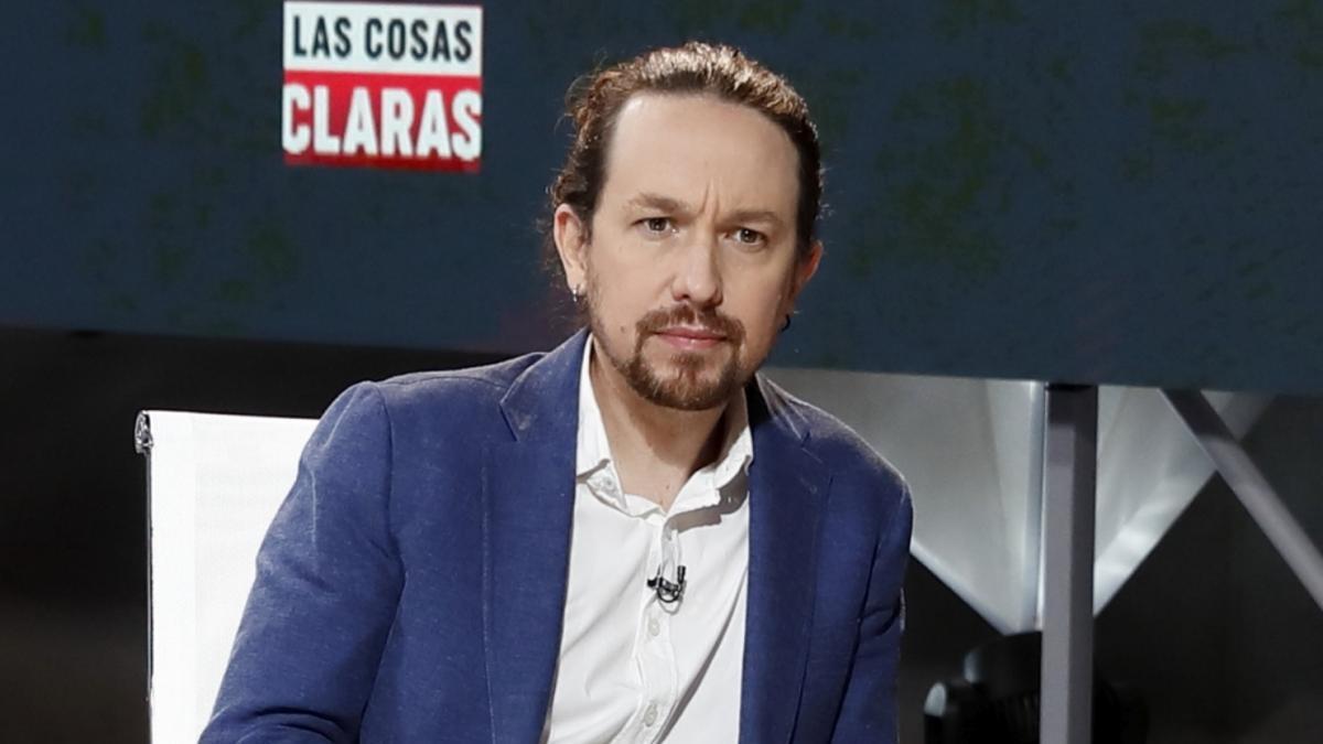 Pablo Iglesias en 'Las cosas claras'.