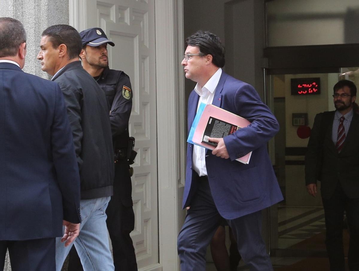 Joan Josep Nuet, encarcelado por error en la interlocutoria del Tribunal Supremo.