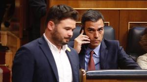 Rufián: «Sense diàleg senzillament no hi ha legislatura»