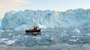 Paisaje en un fiordo de la costa oeste de Groenlandia.