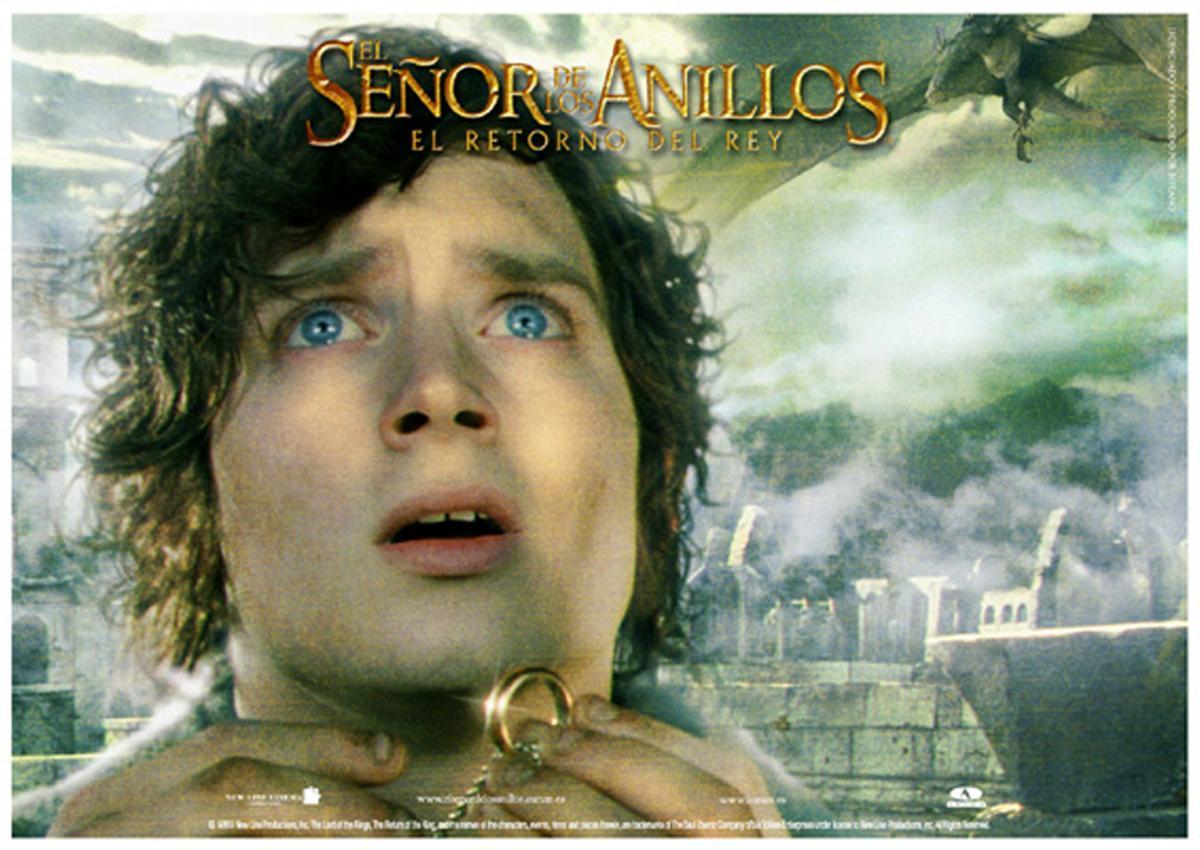 Frodo, protagonista de la trilogía 'El señor de los anillos'