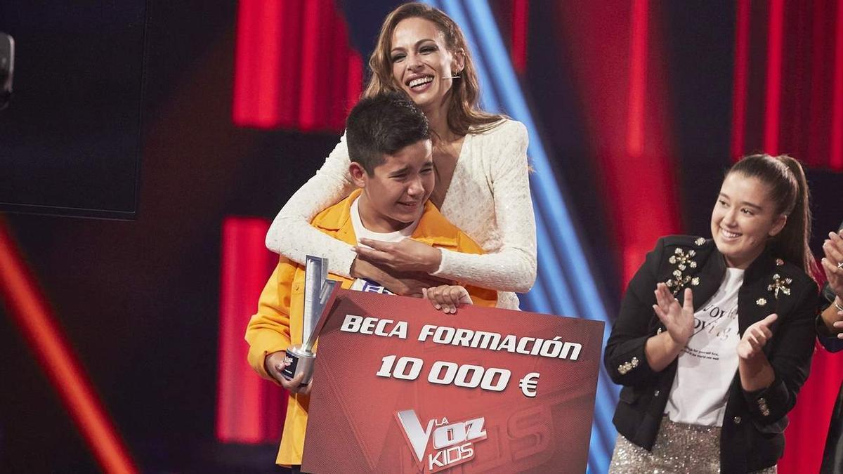 'La Voz Kids' escull Levi, de l'equip de Melendi, com a guanyador de la seva sisena edició