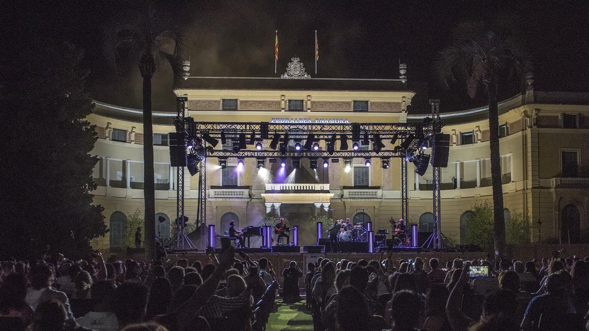 Concierto de David Bisbal en el Festival de Pedralbes, el 5 de agosto del año pasado.