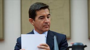 Carlos Torres Vela, consejero delegado y futuro presidente de BBVA, hace unos días en el Congreso.