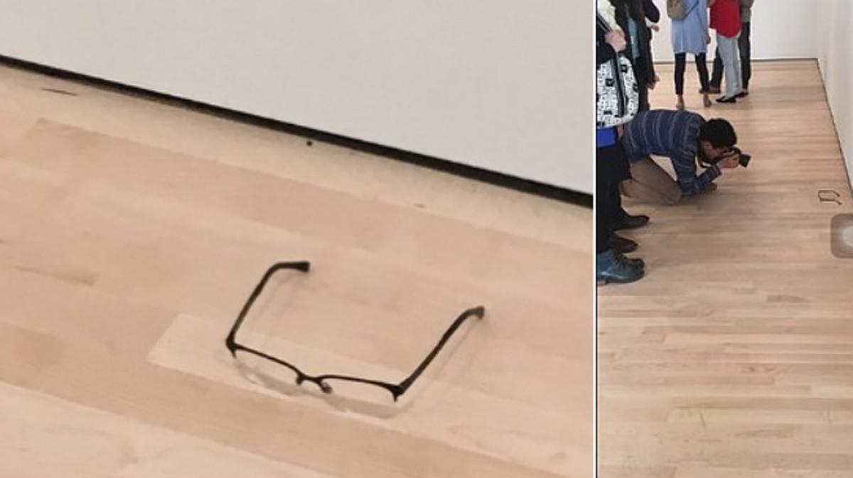 El experimento de las gafas en un museo se ha convertido en viral.