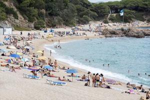 La platja de Sa Conca.