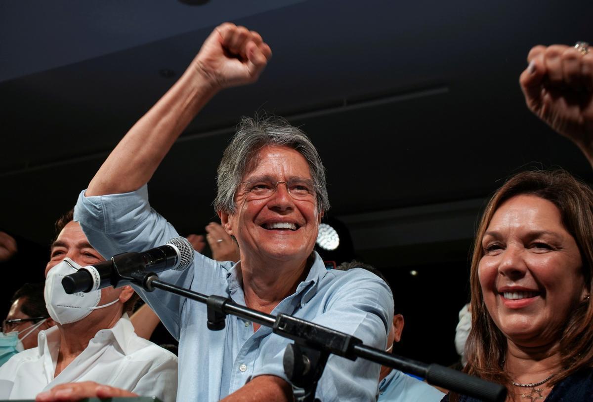 Guillermo Lasso tomará el relevo en la presidencia de Lenín Moreno
