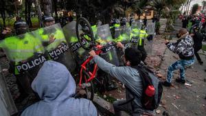 Protestes violentes a Colòmbia pels abusos policials