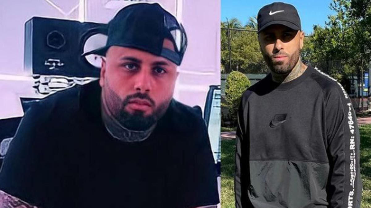 Nicky Jam presume de que ha perdido peso. En la imagen --que el artista ha mostrado en Instagram-- se aprecia el antes y el después.
