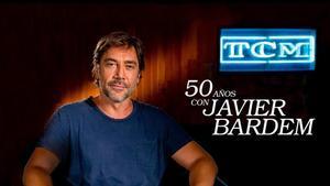Javier Bardem, entrevistado por el canal TCM con motivo de su 50 cumpleaños.