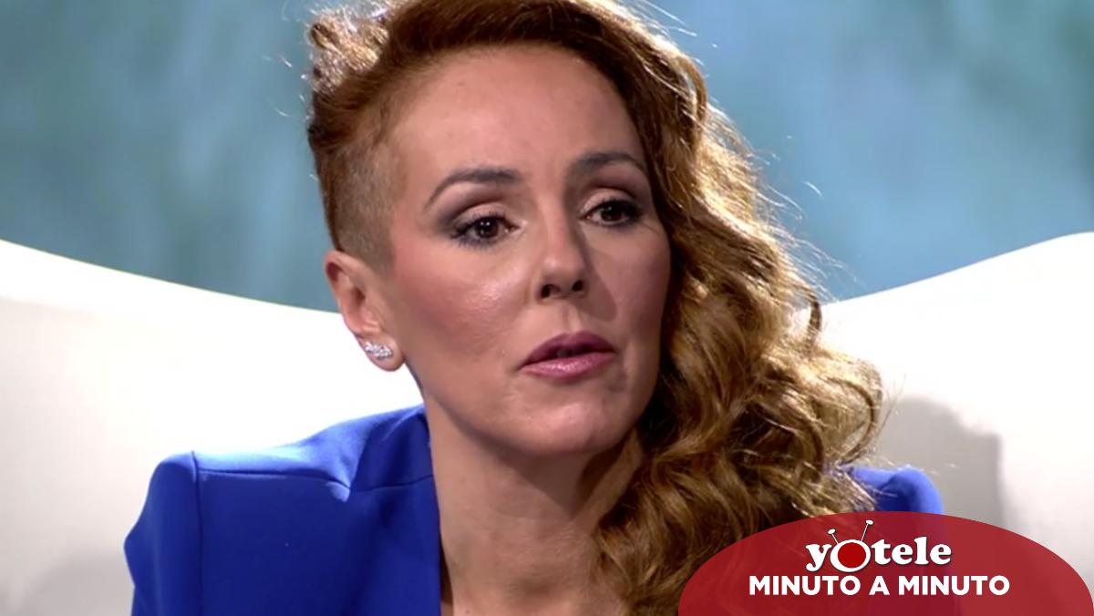 Rocío Carrasco en su entrevista en Telecinco