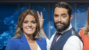 Andrea Ropero y Dani Mateo, compañeros de 'El intermedio' (La Sexta).