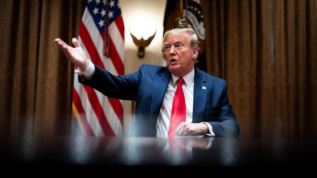 Trump suspende los fondos de Estados Unidos a la OMS en plena pandemia del coronavirus.