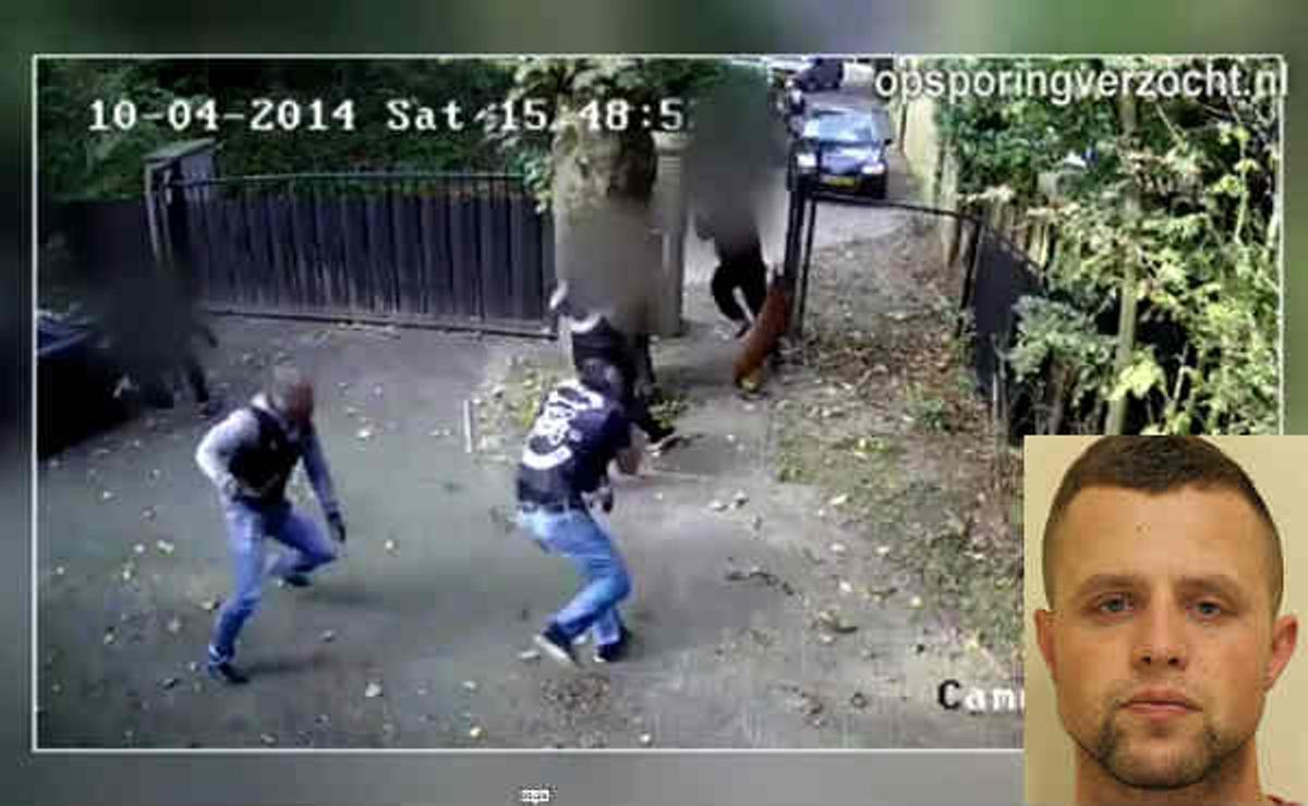 Vídeo de abril del 2014 que muestra al detenido y a su banda motera, No Surrender, en plena acción