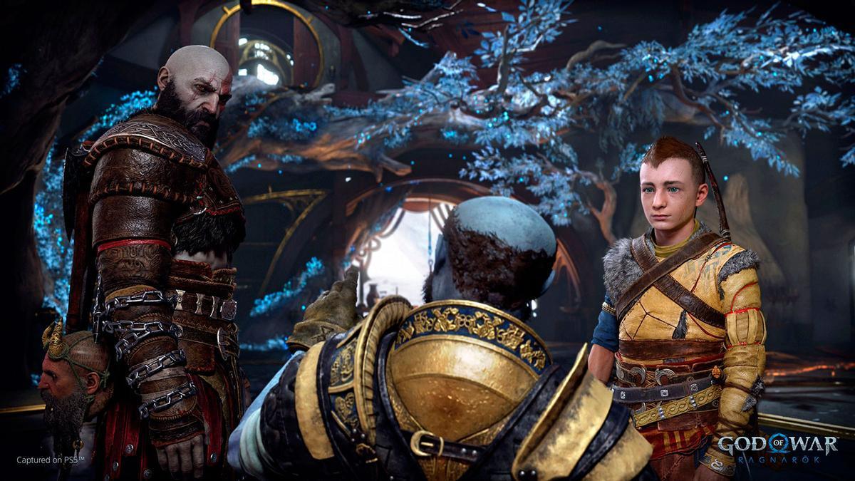'God of War Ragnarök':  nombre oficial y primer vídeo con imágenes de juego