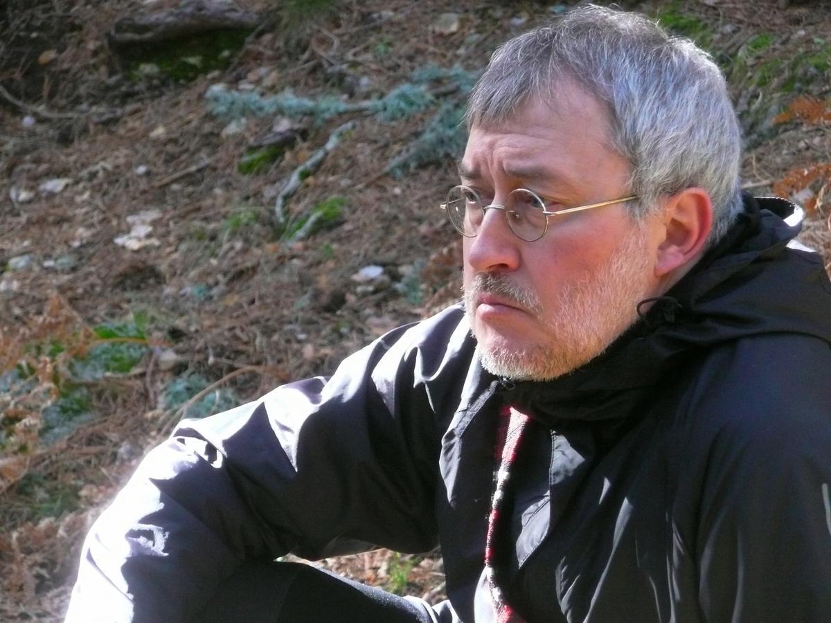 Jorge Riechmann, poeta, profesor de Filosofía Moral y miembro de Ecologistas en Acción.