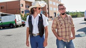 Enrique y Roberto Ruiz Cubero, en una imagen promocional de Los Hermanos Cubero.